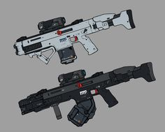 Sci Fi Weapons, Weapon Concept Art, Fantasy Weapons, Weapons Guns, Sci Fi Fantasy, Futuristic Armour, Futuristic Art, Arte Sci Fi, Arte Cyberpunk
