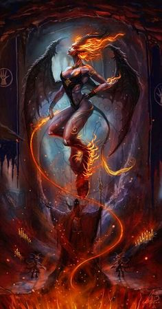 Black Magic # Demon Girl.