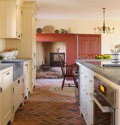 Kitchen Counter Integrated Backsplash Timeless Kitchen