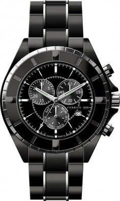 Cerruti 1834 - A similar one in white and ceramic Fine Watches, Watches For Men, Ticks, Dream Homes, Coupon Codes, Men's Fashion, Product Launch, Menswear, Woman
