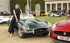 Jaguar E-Type Anniversary at Goodwood Festival of Speed New Jaguar, Jaguar E Type, Jaguar Cars, Norman Jean Roy, Goodwood Festival Of Speed, 50th Anniversary, Corvette, Actors & Actresses, Convertible