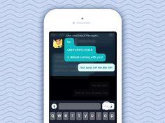 Rethinking the Chat Interface: Notification by Pranav Pramod
