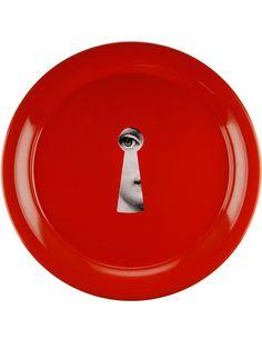 Serratura Round tray Fornasetti