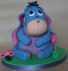 Baby Eeyore cake: Just for you Nikki! :)