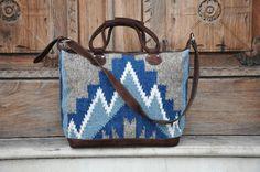 Splendido stile Boho Weekender Bag Guatemala di Tienditaboutique