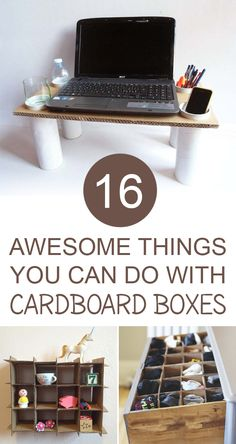 creative and interesting DIY cardboard ideas