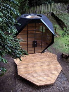 Man cave for the husband, guest house for the family, studio for creating...