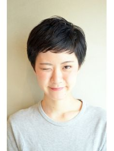 Cute Hairstyles For Short Hair, Pixie Hairstyles, Pixie Haircut, Pretty Hairstyles, Short Hair Cuts, Japanese Short Hair, Japanese Hairstyle, Shot Hair Styles, Pixie Styles