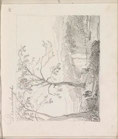 land-Collected works of Gyulnar Akhmetshina - All Rijksstudio's - Rijksstudio - Rijksmuseum Landing, Holland, 19th Century, It Works, Sketches, Abstract, Drawings, Artwork, Prints