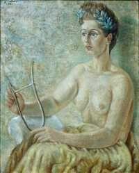 Retrato de Pita Amor, 1948, óleo sobre lienzo de Juan Soriano, incluido en la exposición del pintor y escultor que hoy se inaugura a las 19:30 horas en la Universidad del Claustro de Sor Juana