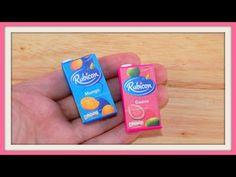 tutorial: miniature juice cartons