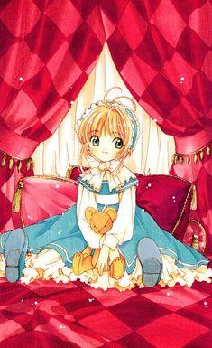CLAMP, Cardcaptor Sakura, Cardcaptor Sakura Illustrations Collection 3, Kinomoto Sakura, Petticoats, Curtain