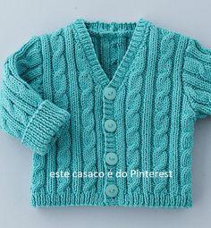 knit kids sweaters – About Baby Baby Cardigan Knitting Pattern Free, Baby Boy Knitting Patterns, Baby Sweater Patterns, Knit Baby Sweaters, Knitted Baby Clothes, Knitting For Kids, Knitting Designs, Baby Boy Jackets, Crochet Baby
