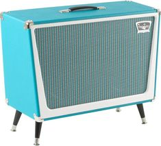 Tone King Galaxy 2x12 Guitar Speaker Cabinet Turquoise