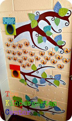 The Kindergarten Center: Boho BIrd Classroom Decor