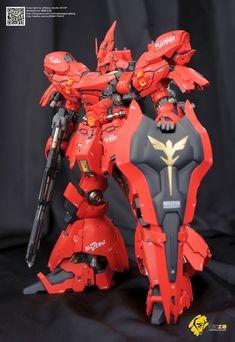 Custom Build: GMG 1/100 MSN-04 Sazabi Formania ver. - Gundam Kits Collection News and Reviews