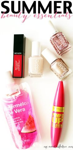 Summer Beauty Essentials- www.mynewestaddiction.com | need the aloe vera tho