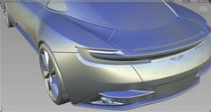 Aston Martin 3D Alias Model