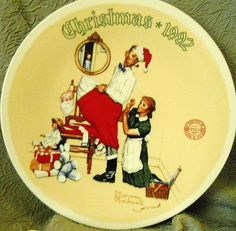 Annual collector plates capture Norman Rockwell's holiday classics ...