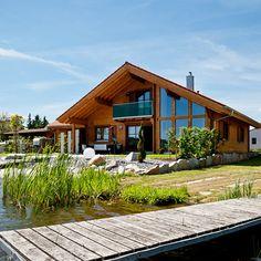 [ Pianta Casa 100 Mq ] - Best Free Home Design Idea & Inspiration Chalet Design, House Design, Ski Chalet, Modern House Plans, Modern Houses, House In The Woods, Future House, Bungalow, Cottage