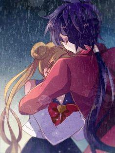 Usagi & Seiya + don't cry, I'm here for you Sailor Moon Stars, Sailor Moon Crystal, Sailor Moon Y Darien, Sailor Moon Drops, Sailor Moom, Arte Sailor Moon, Sailor Moon Usagi, Sailor Uranus, Sailor Saturno