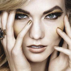Los 4 maquillajes con los que pasar toda la Navidad ❤ liked on Polyvore featuring faces and models