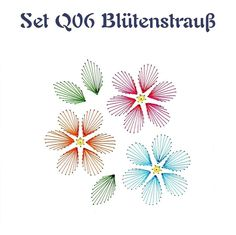 Set Q06 Blütenstrauß