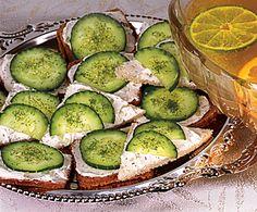 Recipe from Penzeys Spices  http://www.penzeys.com/cgi-bin/penzeys/recipes/r-penzeysCucumberSandwiches.html