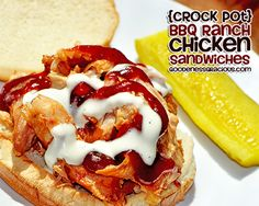 BBQ Ranch Chicken Crock Pot