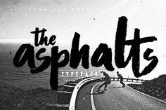 asphalts-free-font