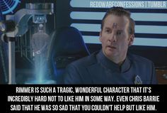 A place for Red Dwarf fans to post their confessions relating to the TV series, novels, characters...