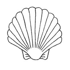 Image result for seashell template free printable | Audrey's ...
