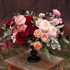 Resultado de imagen para marsala and peach wedding