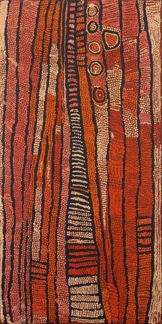 Nungurrayi, Naata, Untitled (Rockhole and Soakage Water Site of Marrapinti) Aboriginal Painting, Aboriginal Artists, Indigenous Australian Art, Indigenous Art, Motifs Textiles, Textile Patterns, Bijoux Design, Art Premier, Arte Popular