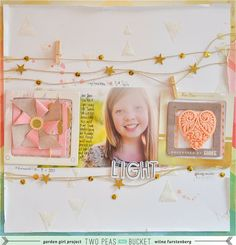 A Video by Wilna from our Scrapbooking Gallery originally submitted 05/28/13 at 09:18 AM  LOVE how Wilna used the string, stars, sequins along with mini clothespin... so inspirational....