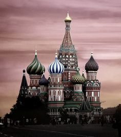 St Basils, Moscow !! wow