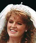 Tiara Mania: York Diamond Tiara worn by Sarah, Duchess of York
