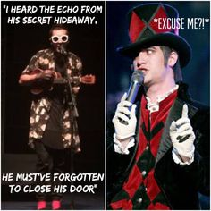 When someone doesn't close the goddamn door // Tyler Joseph // Brendon Urie // sassy Urie // TØP // P!ATD