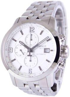6bbde5d46c5 Tissot PRC 200 Automatic Chronograph T055.427.11.017.00 T0554271101700  Gents  Watch