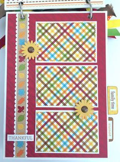 Artsy Albums Scrapbooking Kits and Custom Designed Scrapbook Albums by Traci Penrod: Doodlebug Fall Friends Mini Album