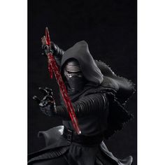Kotobukiya's ArtFX Star Wars lineup continues with characters from Star Wars Episode VII: The Force Awakens starting with none other than Kylo Ren! Kylo Ren looks great in this beautifully sculpted scale statue, standing on a snow-themed base. Star Wars Vii, Star Wars Kylo Ren, Star Wars Collection, Movie Collection, Kylo Ren Figure, Kotobukiya Star Wars, Statue Base, Star Wars Figurines, Knights Of Ren