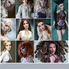 Resin dolls 2016 Подборка за 2016 год. Полиуретан #lutsenkodolls #resindoll #collection #ooakbjd #hyperrealism #dollsofinstagram #полиуретан #коллекционнаякукла #шарнирнаякукла #бжд #balljointeddoll #artstagrams #dolls #bjd