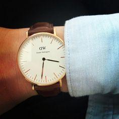 Timeless timepieces available at www.danielwellington.com. #danielwellington #wotd #watch #classy