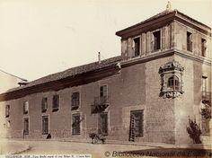 Valladolid, casa donde nació el rey Felipe II by Biblioteca Nacional de España, via Flickr