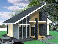 Rumah Minimalis Atap Miring Sebelah - Situs Properti Indonesia