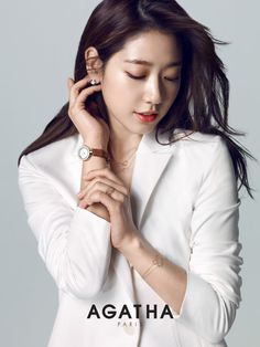 Park ShinHye 박신혜 for Agatha Paris 150327