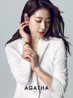 Park ShinHye 박신혜 for Agatha Paris 150327