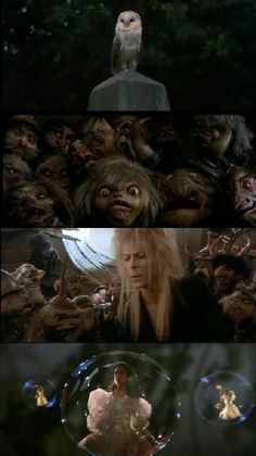 Movies In Frames David Bowie Labyrinth, Labyrinth 1986, Labyrinth Movie, Fantasy Movies, Sci Fi Fantasy, Labyrinth Goblins, Sarah And Jareth, Jim Henson Labyrinth, Radios