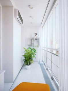 Apartment - Modern And Awesome Small Apartment Design Fresh White Corridor