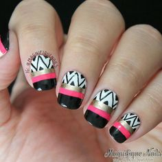 magnifiquenails #nail #nails #nailart | See more nail designs at http://www.nailsss.com/acrylic-nails-ideas/2/